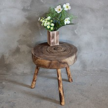 Heat sitting stool factory directly wooden craft decorative