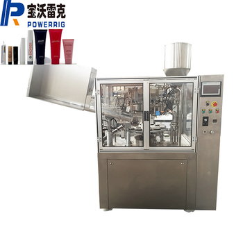 Automatic plastic lamianated tube grease tube filling sealing machine sealer