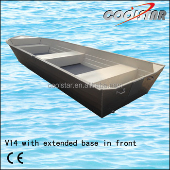 One Side Painted Aluminum Boat With Extended Base In Front Buy Painted Aluminum Boat One Side Painted Aluminum Boat Painted Aluminum Boat With