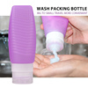 Travel Toiletry Bottles set of 4 pack For All Liquid Toiletries Containers Leak Proof Travel Bottles