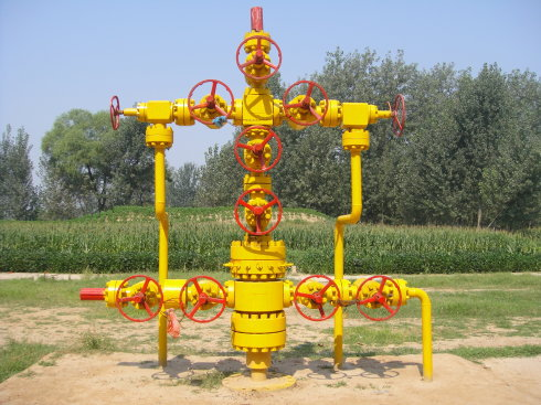 Oil Field Manufacture Gas Well Christmas Tree - Buy Gas ...