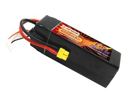 VANT Power 6s 6000mah 25c lipo battery for RC race grade