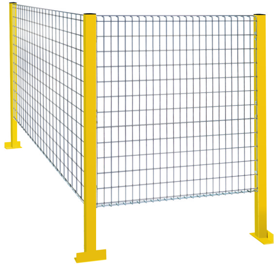 Area Separation Safety Fence Machine Perimeter Guarding