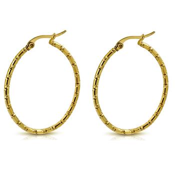 5fa2b02d9c1c4 Free Sample Latest Gold Designs Fashion 40MM Stripe Hoop Twist Earrings  Women Jewelry, View Earrings Women Jewelry, Right Grand Jewelry Product ...