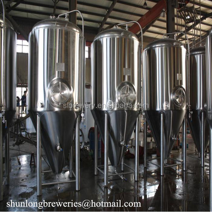 2000L factory equipment industrial beer system brewery equipment