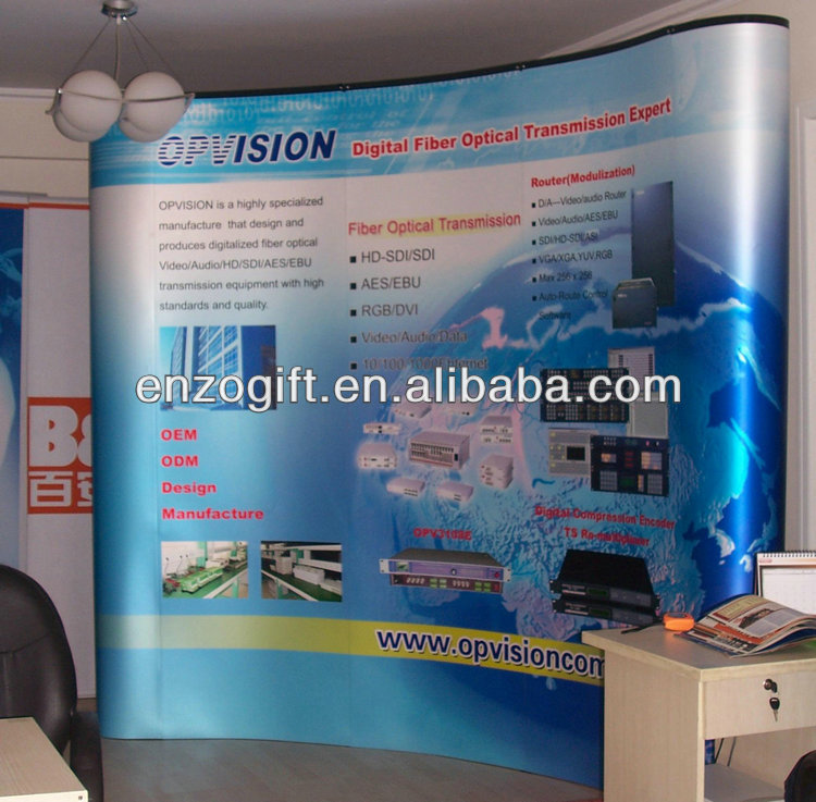 Advertising Exhibition Stand,China Pop Up Display Big Screen