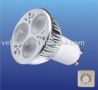 Dimmable GU10 LED BULB 3*2W