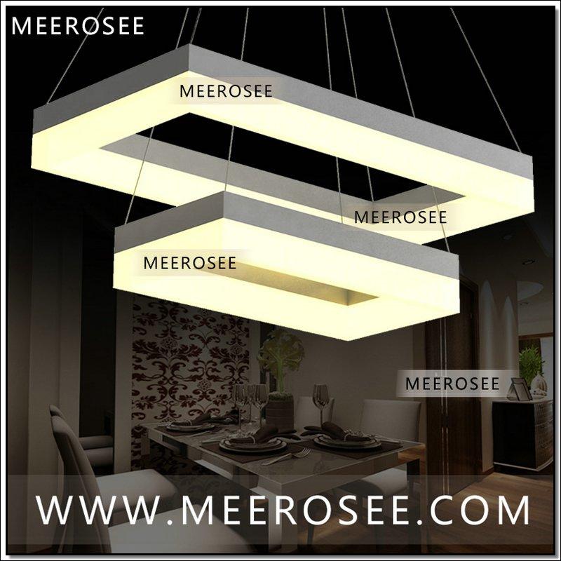 Latest Design Led Acrylic Light Fixture Led Hanging Lamp Modern ...