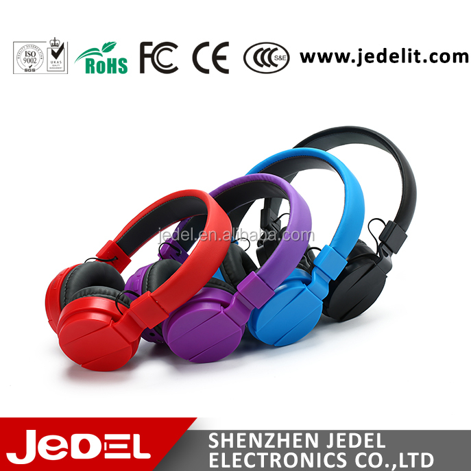 China wholesale cheap bluetooth stereo headphones RF wireless