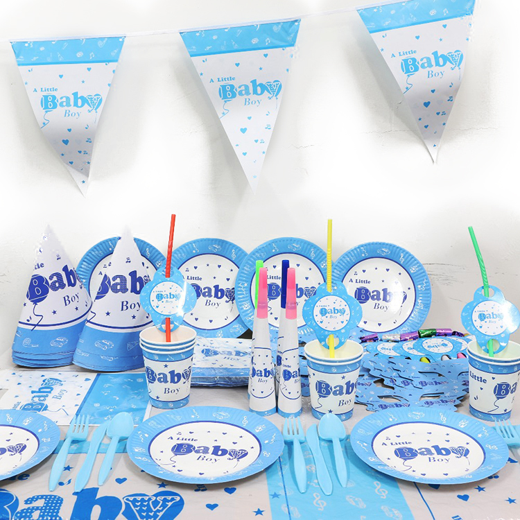 Kids Baby Shower Party Cheap 1ST Birthday Decorations