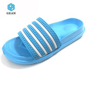 7392da1f1da0 New Design Comfortable Women Casual Sandal Slipper custom LOGO PVC Upper  EVA beach slide slipper