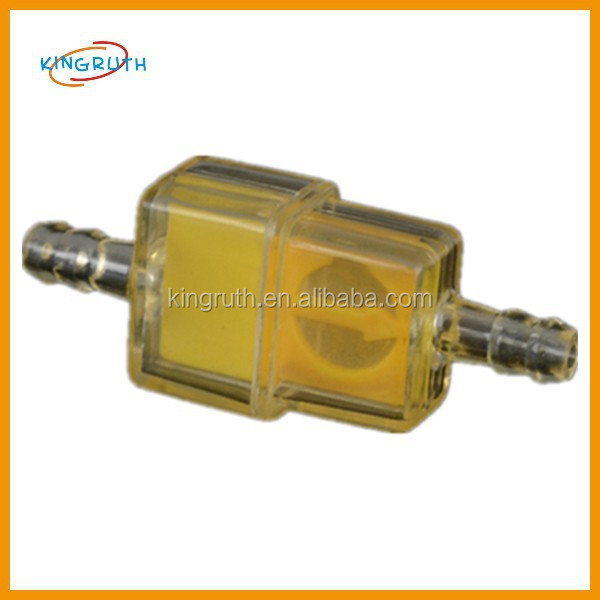 "MOTORCYCLE CLEAR INLINE GAS CARBURETOR FUEL FILTER 1/4"" 6mm 7mm ENGINE"