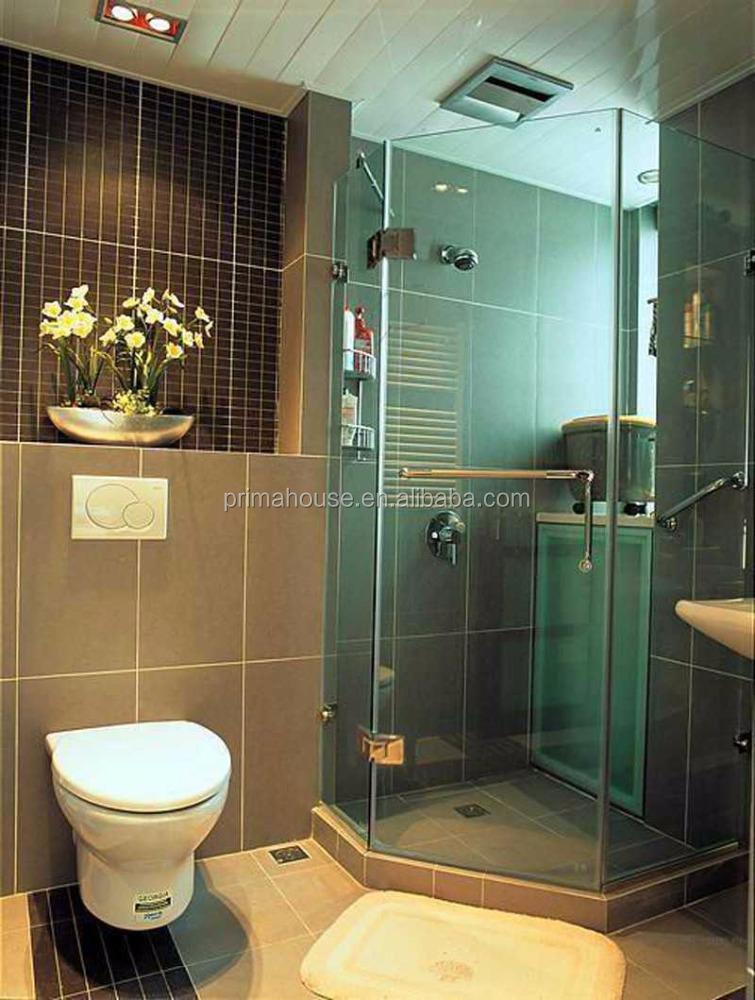 bisagras de la pantalla moderna ducha cabina de ducha de vidrio templado de vidrio