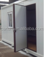 prefab flatpack office/one side folded/living room/ container house
