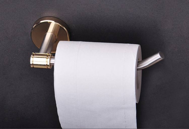 online shopping rust-proof porcelain recessed toilet paper holder factory