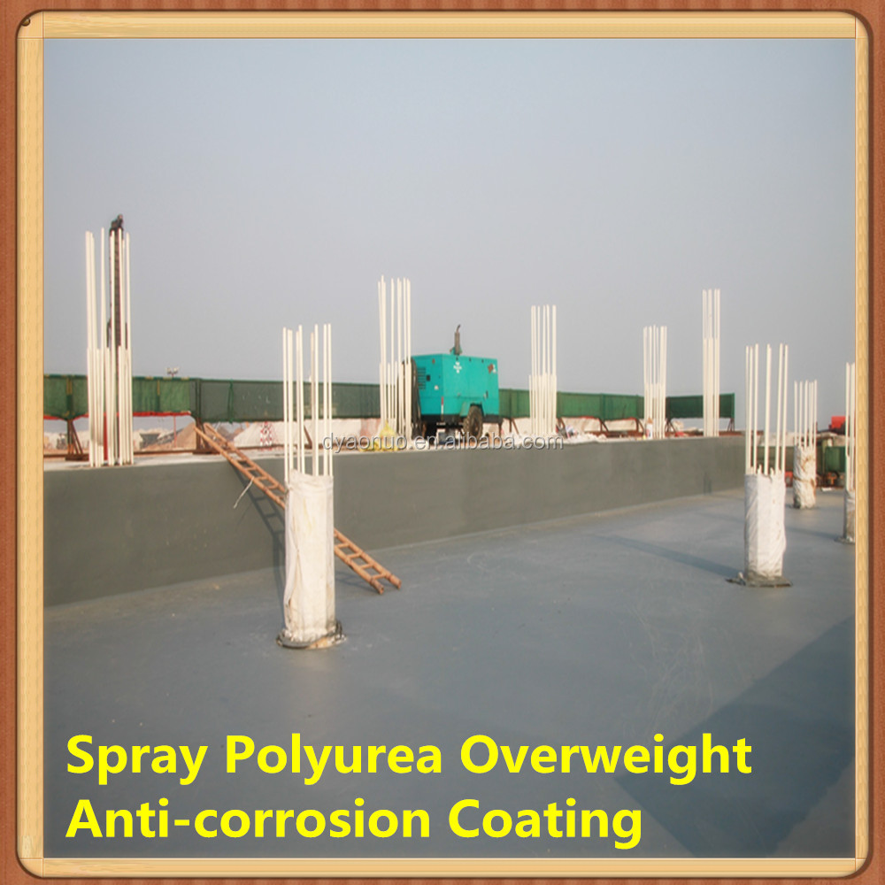 Overweight Anti corrosion and hydrophobic coating <strong>spray</strong> for Iron Polyurea Coatings