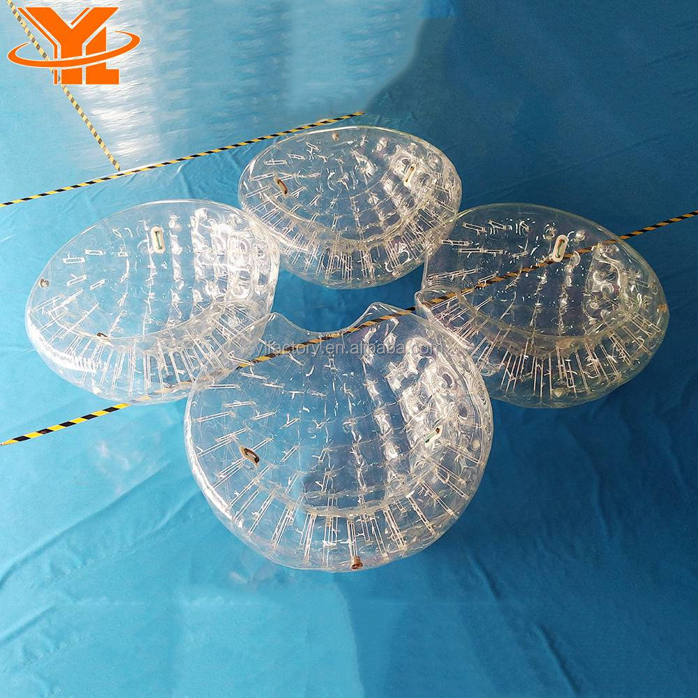 China Super September Clear Beach Coconut Balls, Half Zorb Ball Supplier