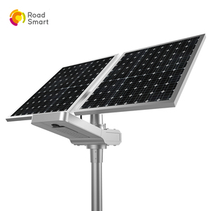 5 Years Warranty Newest Road Smart Outdoor Solar Street Light with Rotating Solar Panel