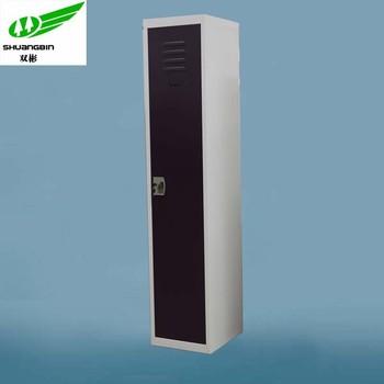 Single Door Hanging Clothes Metal Tall Narrow Cabinet - Buy Tall ...