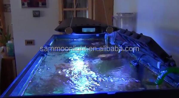 Sm R100 Ultra-thin Sunrise Led Light Coral Reef Tank Blue/white ...