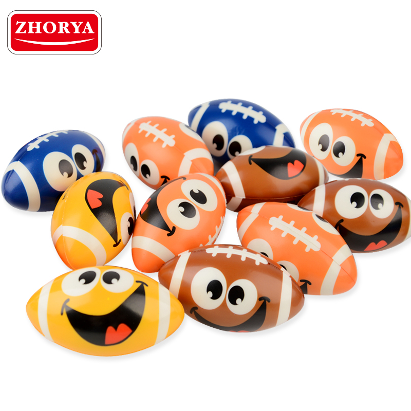 Zhorya facial expression smiley pu stress <strong>ball</strong> for kids