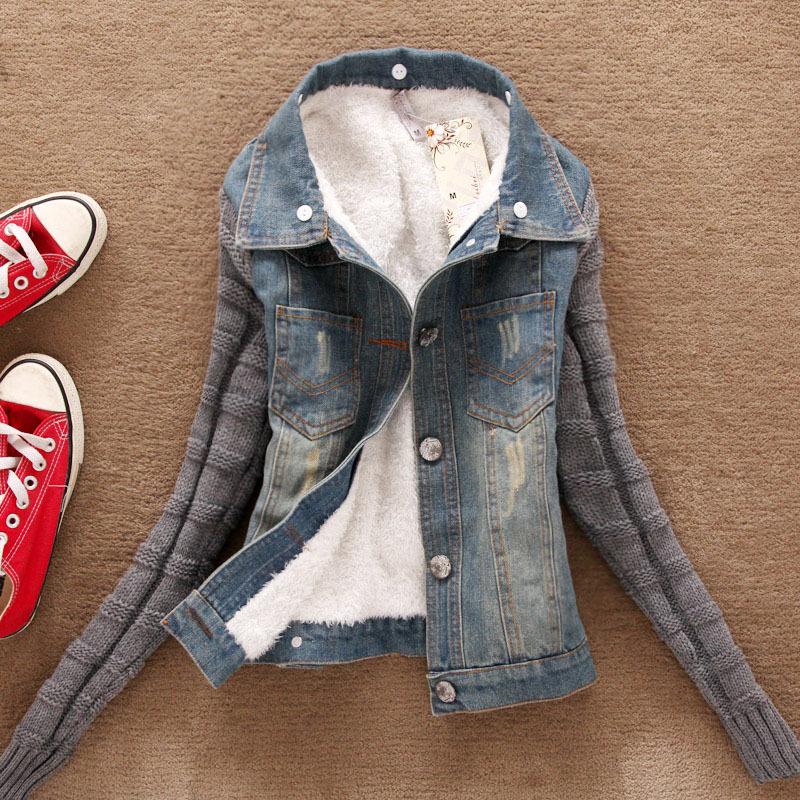 200f7019afb6 High Quality Lower Price Winter Denim Jacket Woman Cheap - Buy Denim ...