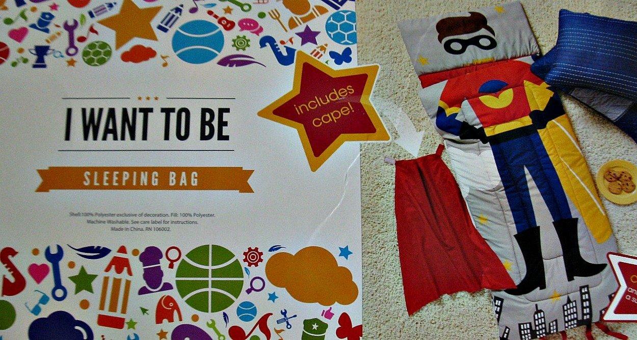 I Want to Be Sleeping Bag - Super Hero