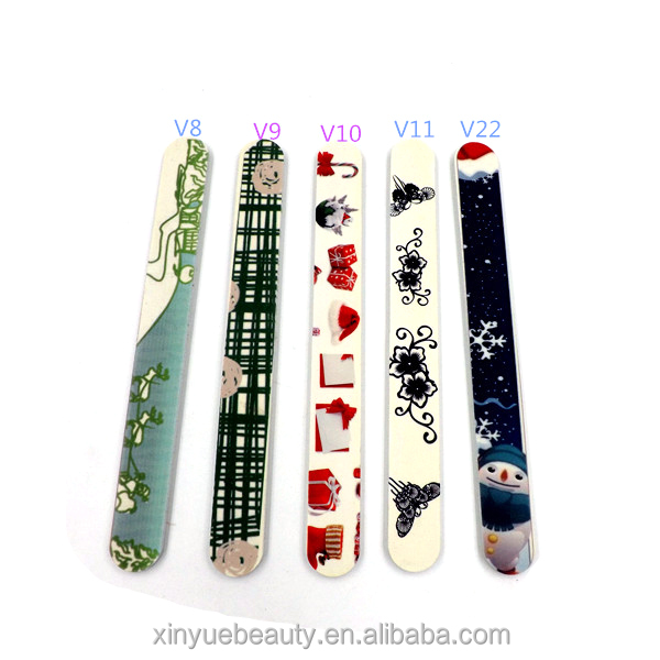 Whole Christmas Cute Custom Mini Nail Files