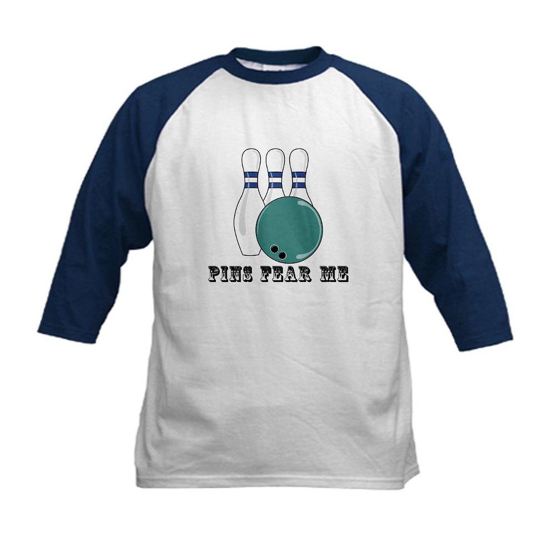 44391f10 Get Quotations · CafePress - Pins Fear Me Kids Baseball Jersey - Kids  Cotton Baseball Jersey, 3/