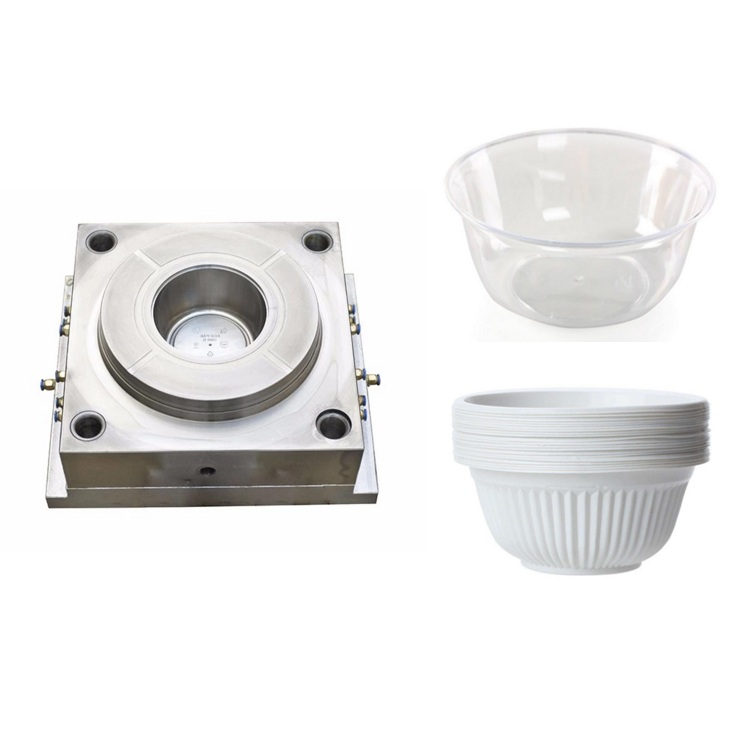 High quality low price   food container plastic injection mold  plastic bowl injection mold