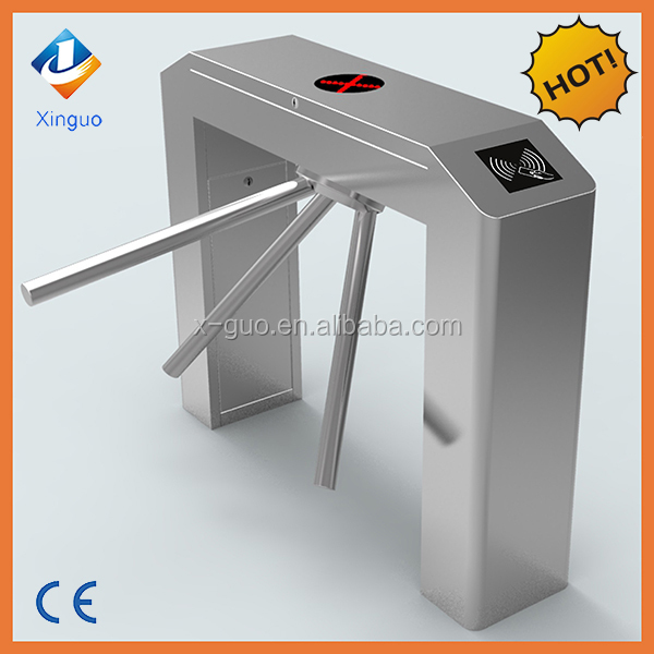 Outdoor turnstiles for access control