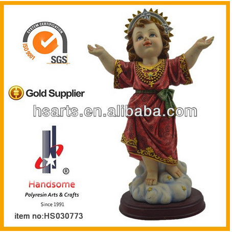 New product polyresin catholic religious saint San Frances statues