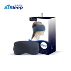Super September Offer Chinese Factory Aisleep Black Color Foldable Anti-Puffiness 3D Eye Mask Sleep Eyemask