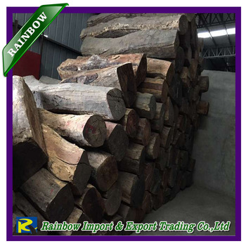 African wood timber to China