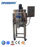 Guangzhou Sipuxin large mixer, hotel soap making machine