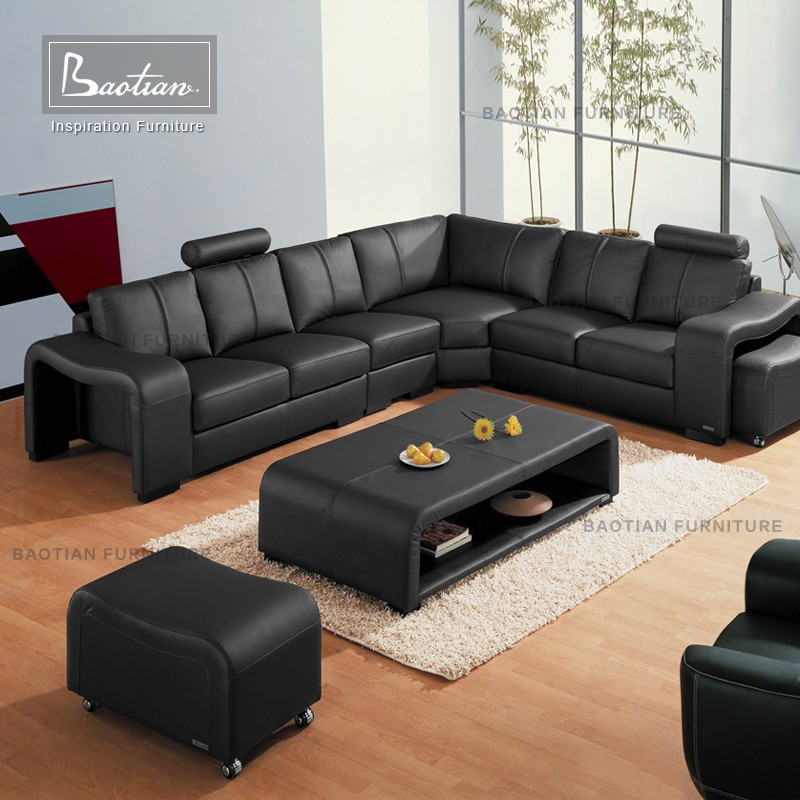 Leather Couch Sofa,Modern Furniture Sofa Set With Beautiful Led Lights  Furniture Living Room Sofa Sets For Hotel Furniture - Buy Cheap L Shape ...