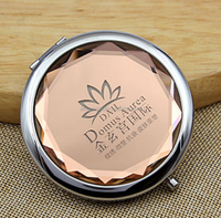 Hand made Cosmetic Flodable Compact Mirror
