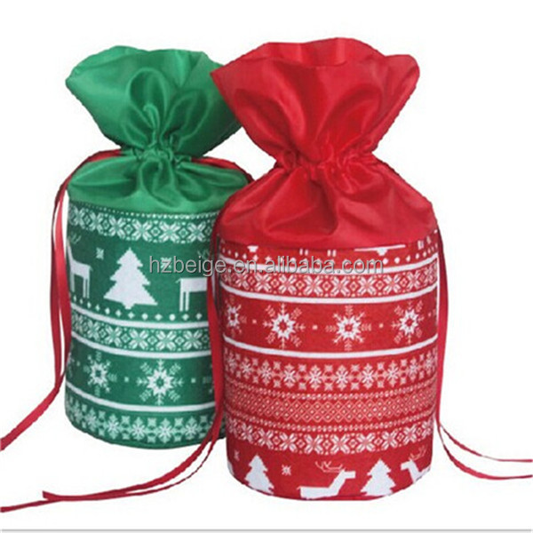 China Wholesale Felt Christmas Drawstring Bag - Buy Christmas ...