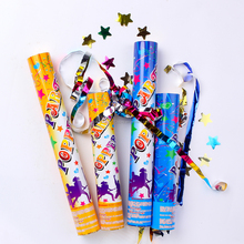 High Quality party popper no firework with colorful tissue paper