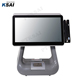 15inch pos pc touch screen Android Pos Terminal Financial Dual screen all in one touch screen pos