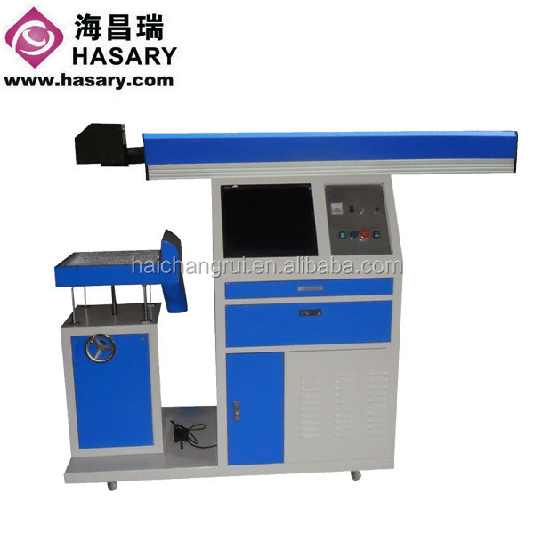 CE provided 100w portable laser marking machine / co2 laser marking machine for cable / battery marking