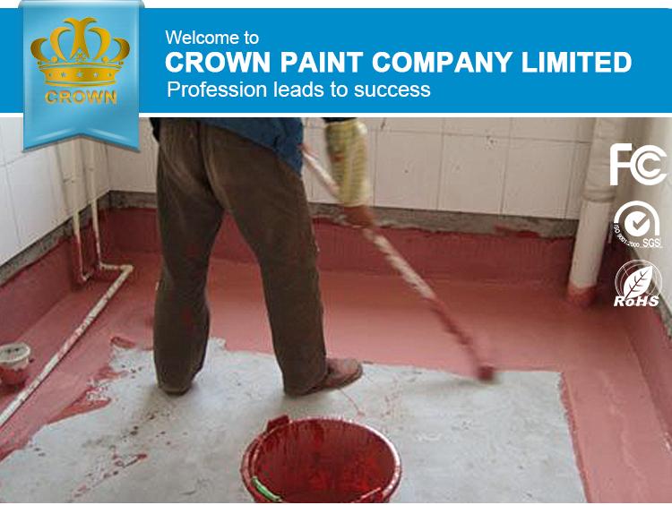 Crown Cement Based Bathroom Floor Waterproofing Material