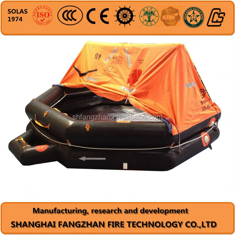 Throw-overboard Inflatable Life raft life boat