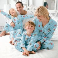 sweet pajamas Stylish 100% cotton custom pajamas family wholesale