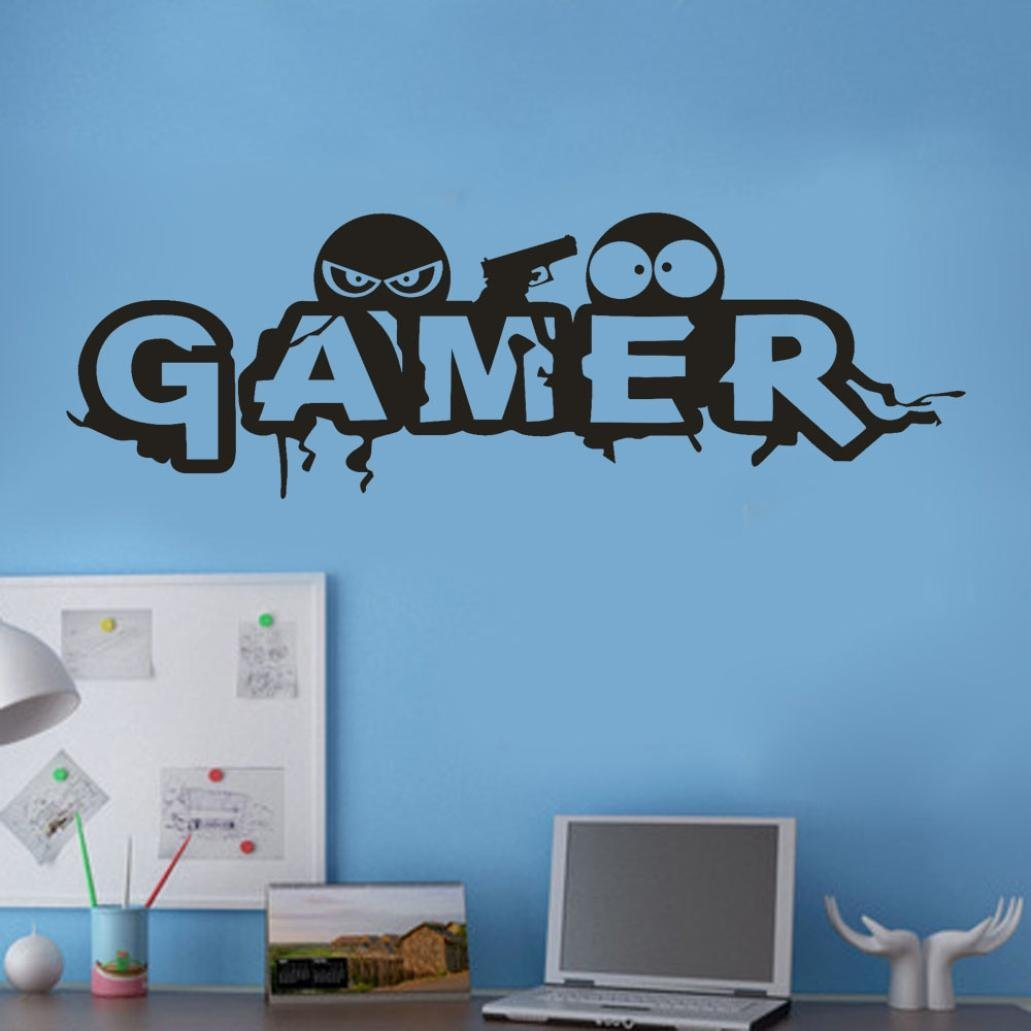 Personalized Gamer Name Banner 4 Feet Wide Reusable Heavy Duty Banner 3D Looking Pixel Background Gamer Party Decor Turns Into Room Wall Decor