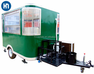 Ice Cream Dining Selling crepe food kiosk Mobile Buffet Car