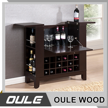 Mini Modern Wood Wine Bar Cabinet Living Room Furniture Design Buy Wooden Wine Cabinet Modern