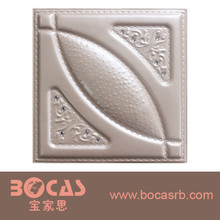 New design cheap price PVC Ceiling & Wall Panel PVC Ceiling Profile Tiles Wooden Shaped Ceiling Panel for building material