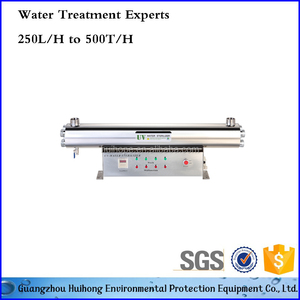 big capacity water uv sterilizer in water treatment