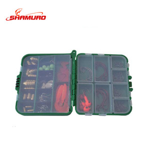 Wholesale Rock Fishing Boxed Accessories Fishing Hooks Space Beans Bait Retainingt Fishing Tools Set